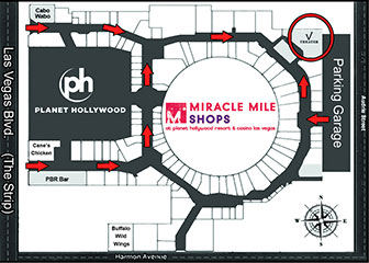 240ec3047abd3 Playing daily at 4pm at the Miracle Mile Shops at the Planet Hollywood  Hotel   Casino.